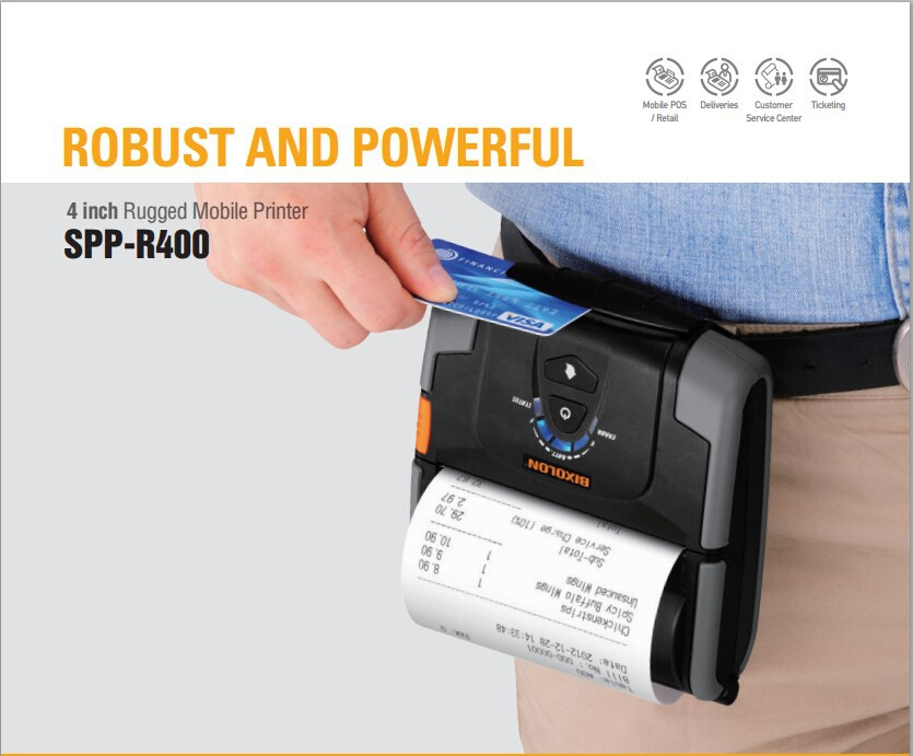 BIXOLON bluetooth mobile thermal receipt printer best buy