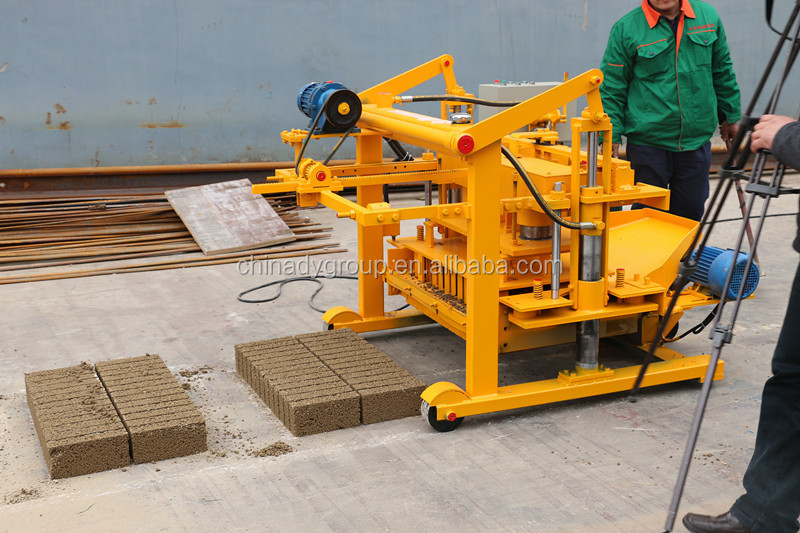 Cement Block Plant Machines : Turkey portable concrete block making machine manual