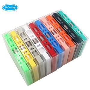 Shenzhen Factory Wholesale and Customized Colored Blank Cassette Tapes