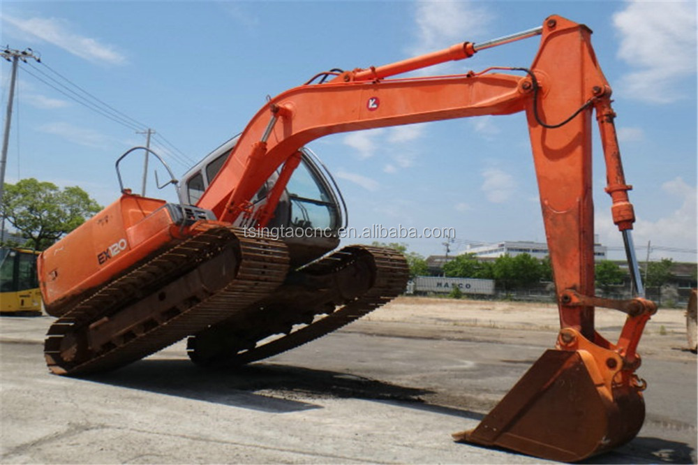 EX120 EX100 used Hitachi crawler excavator for sale! Japan origin, cheap price excavator EX120 EX100