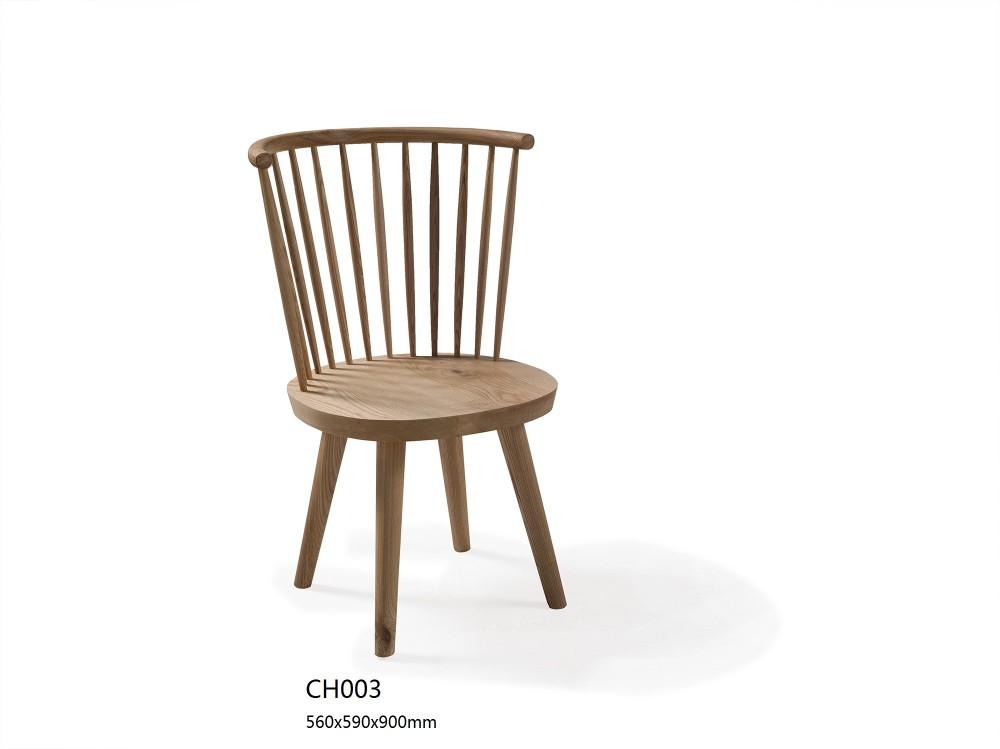 2016 Latest Chinese Vintage Country Style Solid Wood Dining Chair Made In China