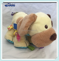 Wholesale Guangzhou manufacture soft spots floppy dog plush toys for baby