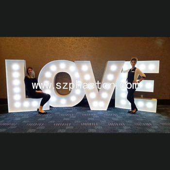 custom love letters for decoration led big marquee light letters sign buy high quality led big letter signlight up letters for signled lighted letters