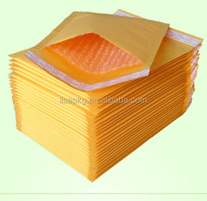 Recycled kraft paper bubble envelope wrap mailer bags/Mobile Phone Bags