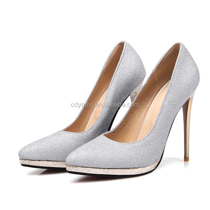 4190bf3162 Venta al por mayor China Precio barato de las mujeres de tacón alto bombas  elegantes zapatos