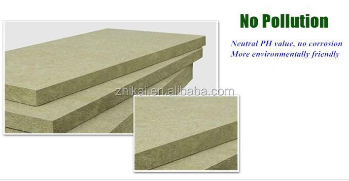 Flat roof rock wool fiber board buy flat roof rock wool for Wool wall insulation