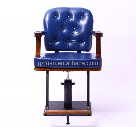 New style molding sponge synthetic leather used hair styling chairs sale