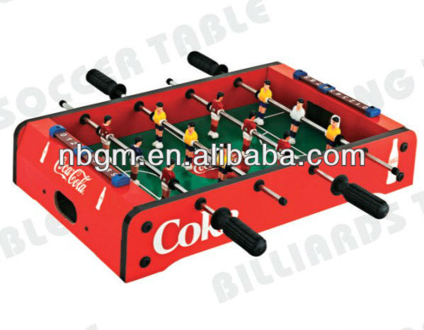 Mini Foosball Soccer Game Table by customization design