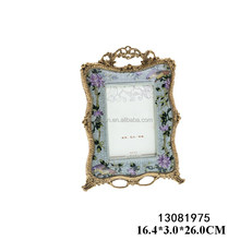 2017 newest design popular ceramic photo frame