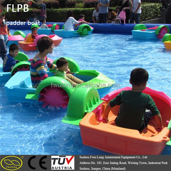Round Large Inflatable Pool for row boat on water