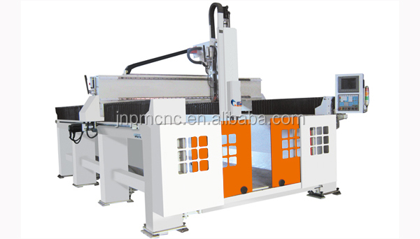 Factory manufaturer bangkok thailand 3d cnc engraving machine /5 axis cnc router for wood,foam,relief PM 1224 with good price