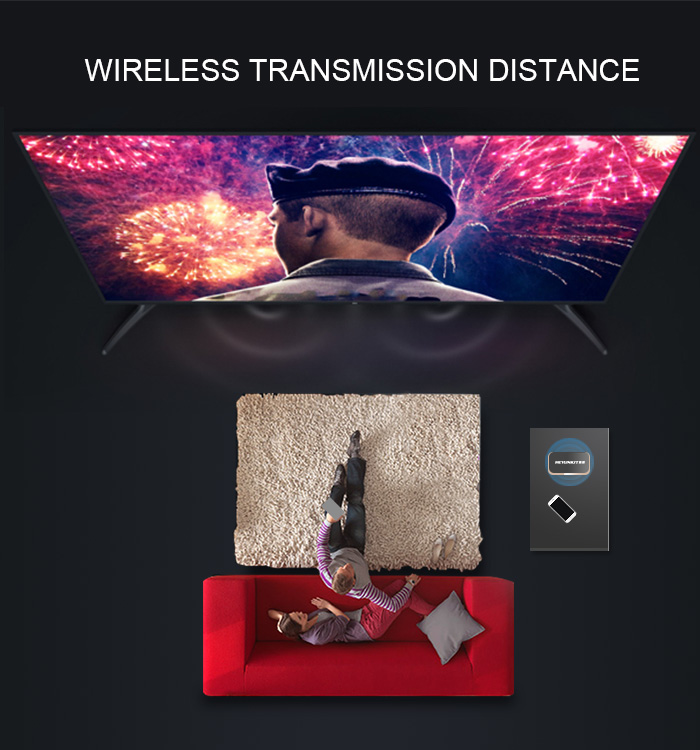 Welcome Customized High Speed Wireless Wifi Display Dongle for smartphones
