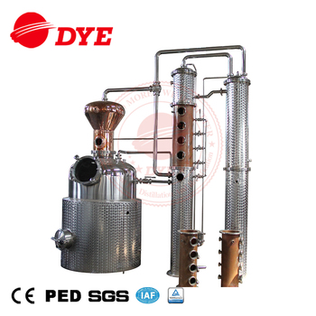 500L Stainless Steel Whiskey Distillery/Brandy Home Alcohol Distiller