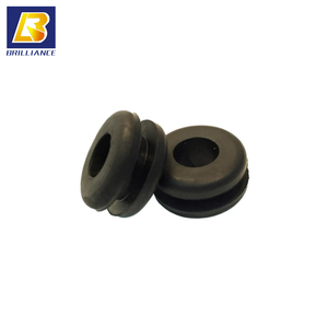 Customized Molded Silicone EPDM NR Rubber washers,round shape black EPDM rubber auto grommet,10mm Black Rubber Grommets