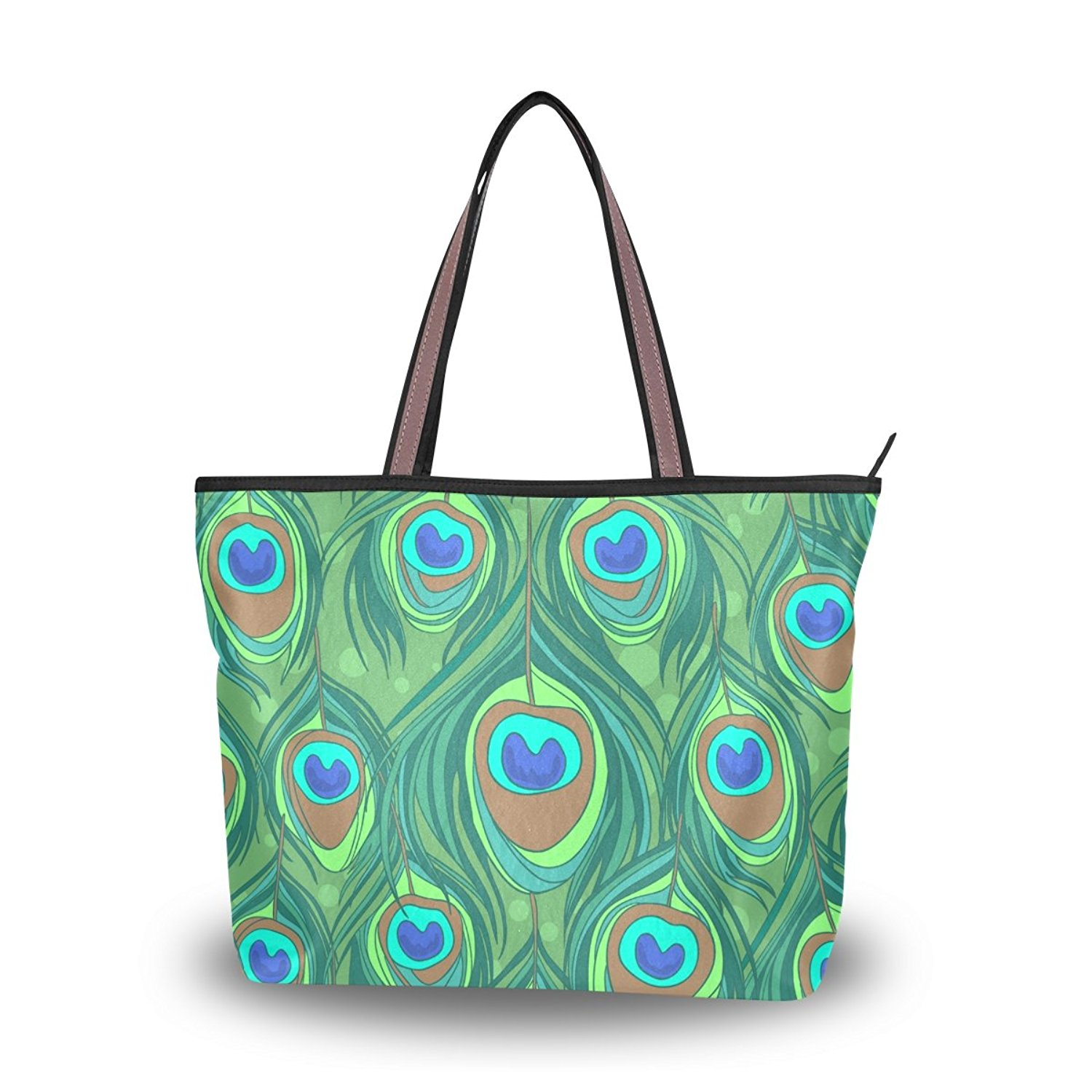 90b45f293b95 Cheap Peacock Feather Tote Bag, find Peacock Feather Tote Bag deals ...