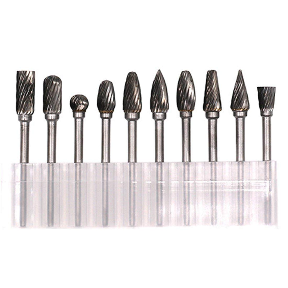 Power & Hand Tools Silver 10 Model Tungsten Steel Solid Carbide