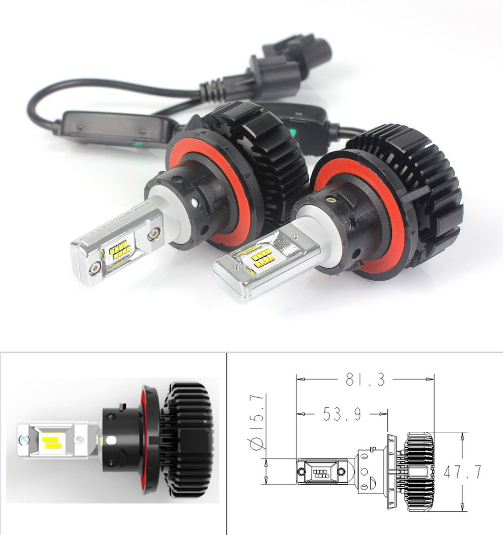 7 plus LED headlight- H13