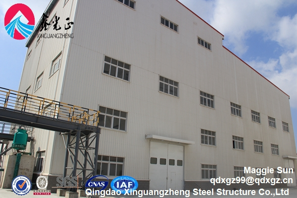 Cost of steel frame structure warehouse