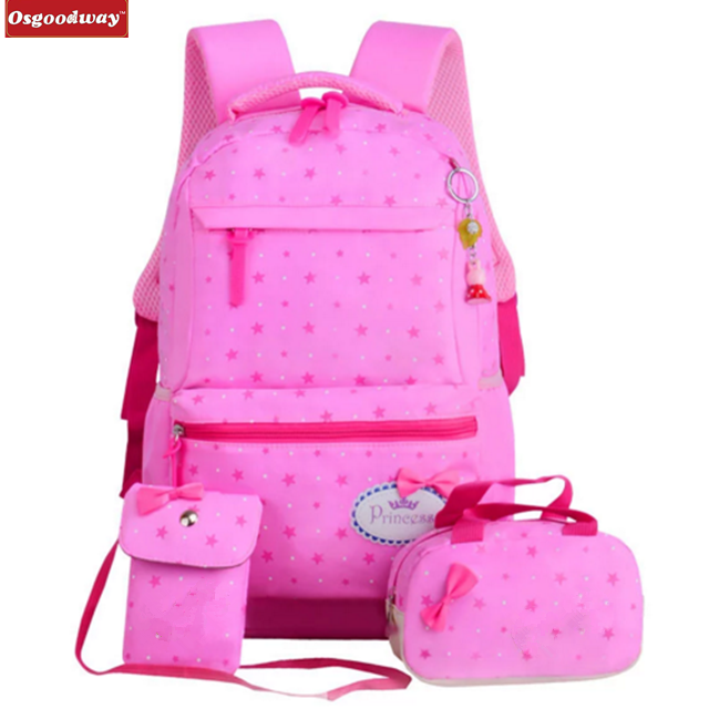 Osgoodway Children School Bags Teenagers Girls Printing Rucksack school Backpacks kids travel backpack Cute Shoulder Bag