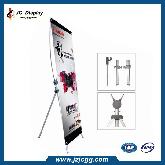 popular x banner stand,media use stand,display x banner