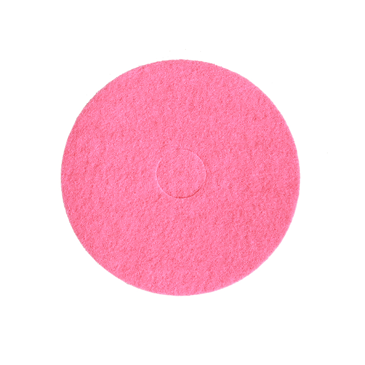Factory Supplying Round Cleaning Products Floor Poshing Pad Multiple Colour