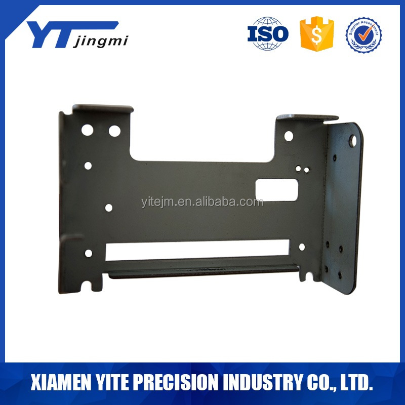 OEM Sheet metal fabrication metal stamping parts drilling parts bracket for computer
