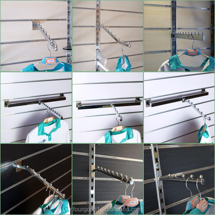 4 gridwall hooks metal hanger chrome wire grid wall panel