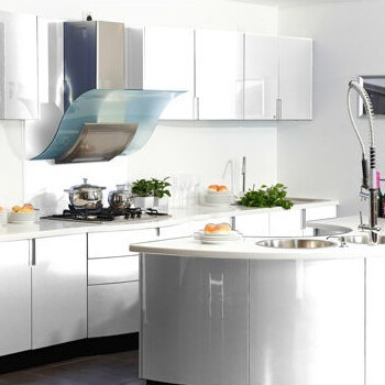 Welbom White Lacquer Modern Kitchen Cabinets With Round   Buy Modern  Kitchen Cabinets With Round,Modern Kitchen Cabinets With Round,Modern  Kitchen Cabinets ...