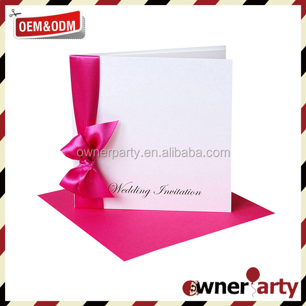 Ribbons And Bows For Wedding Invitations Ribbons And Bows For