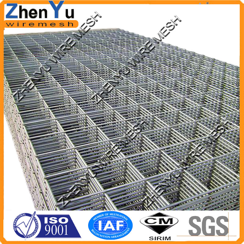 Hot Sale 2x2 Galvanized Welded Wire Mesh For Fence Panel With Top ...