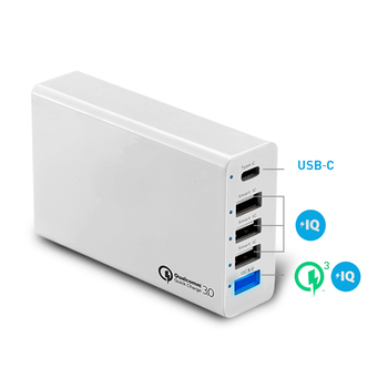 3in1 5 ports type c qc3.0 USB charger Ac Adapter power supply 5V10A usb charge