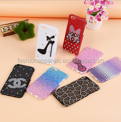 acrylic crystal stickers for mobile phone