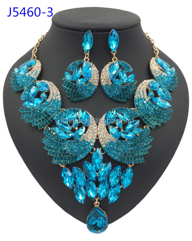 costume cz jewelry fashion sets chinese bluebell manufacturers and wholesale jewellery
