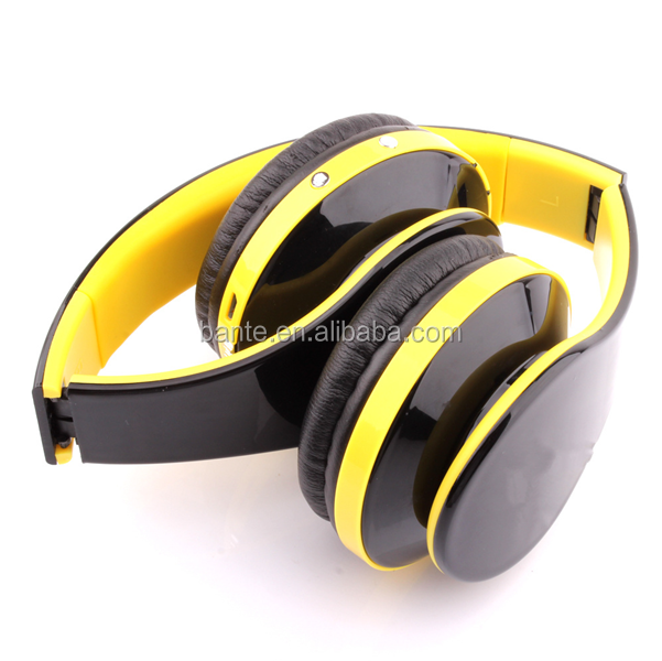 World Debut Wireless Stereo Mic Tf Card Fm Bluetooth Headphones ...