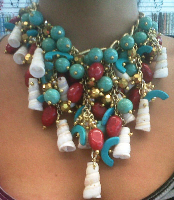 Collares con piedras y acrilicos collares identificaci n - Piedras para collares ...