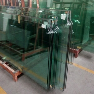 High quality safety 12mm thick tempered glass price for 1/2 inch