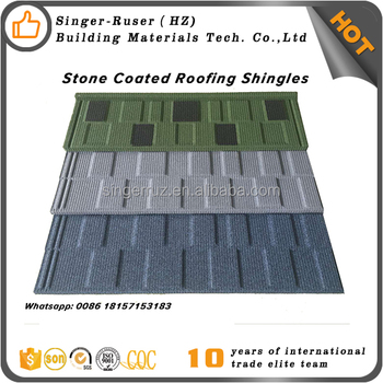 ecb0173b0e Low price Chinese manufacturing roofing materials, Stone coated metal  roofing sheet type of roofing covering