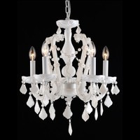 white crystal mini small chandelier party supplies events decoration lights 85573