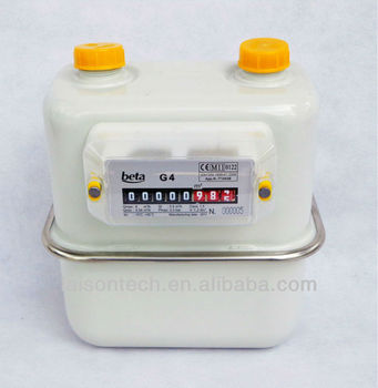 Diaphragm gas meter EN1359 Certified G4