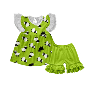 Hot Selling Cheap Outlet Kids Clothing Child Girls Clothes cheap children's clothing from China