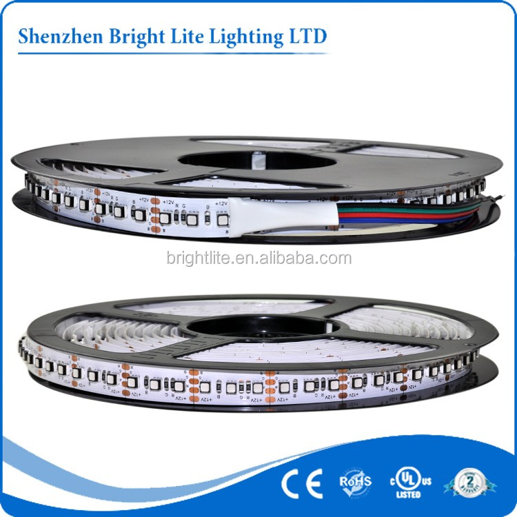 LED strip SMD3535 120leds <strong>RGB</strong> color DC 12V Non-waterproof UL CE RoHS