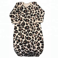 Toddler Boys And Girls Leopard Print Gown Bulk Wholesale