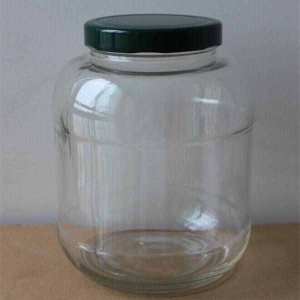 1 5 litre 1500 ml alimentaire bocaux en verre rond bocaux - Bocal en verre 10 litres ...