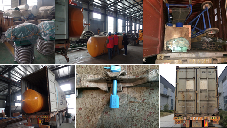 High output small project waste plastic pyrolysis machine