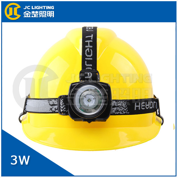 Waterproof 3w Rechargeable Led Headlamp For Industry Work Coal ...