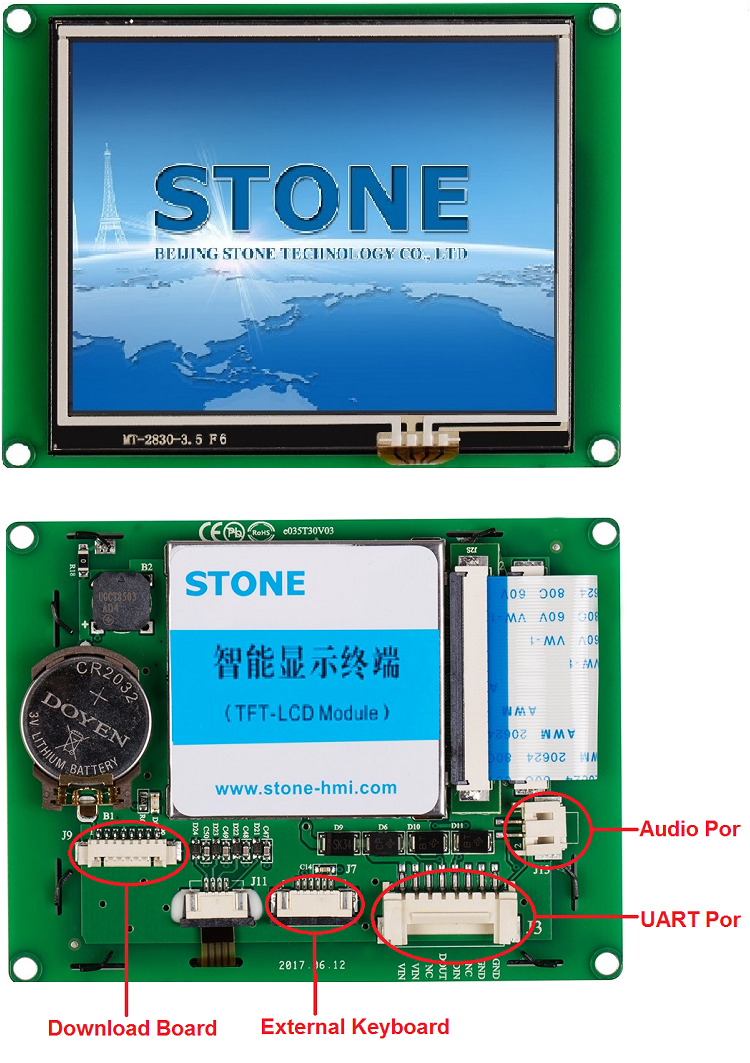 STONE CPU Display With 6