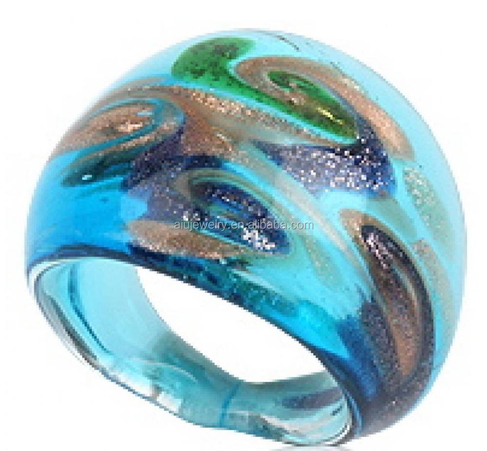 Venta caliente anillo de cristal murano joyer a joyer a de plata identificaci n del producto - Anillo cristal murano ...