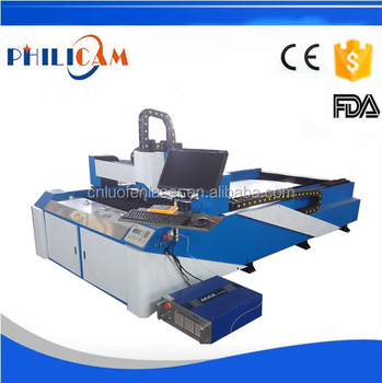 Philicam cnc 200w 500w 750w fiber laser cutting machine for 2mm 5mm 8mm 10mm metal