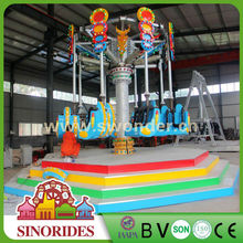 Attraction Spiral Jet amusement park rides adult animal games,adult animal games