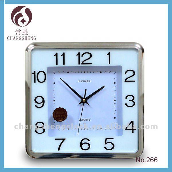 Ce rohs cuadrados reloj de pared decorativos relojes de - Relojes decorativos pared ...